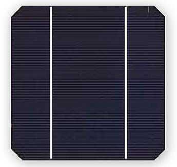 Celda Solar Fotovoltaica monocristalina
