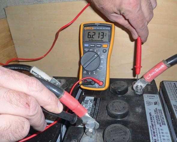 mantenimiento de batería solar