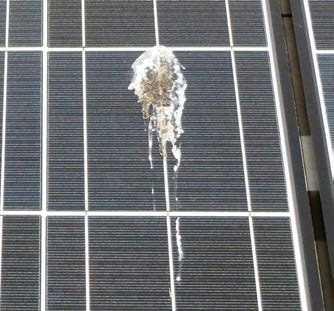 Mantenimiento del módulo solar